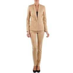 Oblečenie Ženy Nohavice päťvreckové La City PBASIC Béžová