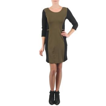 Oblečenie Ženy Krátke šaty La City ROKAMIL Kaki / Čierna