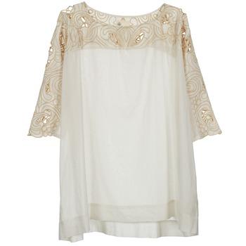 Oblečenie Ženy Blúzky Stella Forest ATU030 Béžová