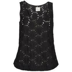 Oblečenie Ženy Tielka a tričká bez rukávov Stella Forest ADE007 Čierna