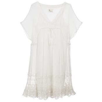 Oblečenie Ženy Krátke šaty Stella Forest ARO035 Krémová