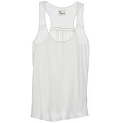 Oblečenie Ženy Tielka a tričká bez rukávov Stella Forest ADE005 Biela