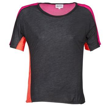 Oblečenie Ženy Tričká s krátkym rukávom American Retro CAROLE Čierna / Ružová