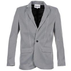 Oblečenie Ženy Saká a blejzre American Retro JACKYLO Biela / Čierna
