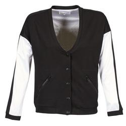 Oblečenie Ženy Bundy  American Retro CHARONNE Čierna / Biela