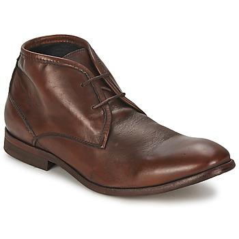 Topánky Muži Polokozačky Hudson CRUISE Hnedá