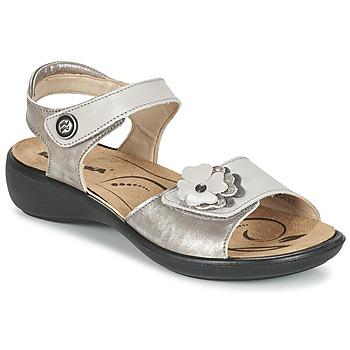 Topánky Ženy Sandále Romika IBIZA 67 Strieborná