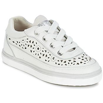 Topánky Dievčatá Nízke tenisky Geox CIAK G. H Biela
