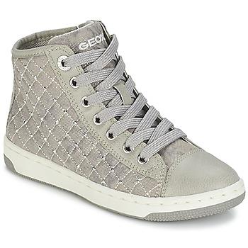Topánky Dievčatá Členkové tenisky Geox CREAMY B šedá