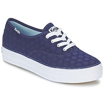 Topánky Ženy Nízke tenisky Keds TRIPLE EYELET Námornícka modrá