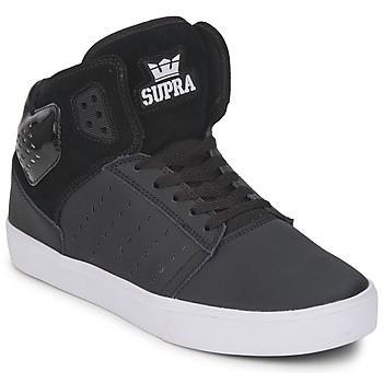 Topánky Muži Členkové tenisky Supra ATOM čierna / Biela