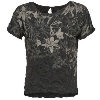 Oblečenie Ženy Tričká s krátkym rukávom Oxbow NIANA čierna