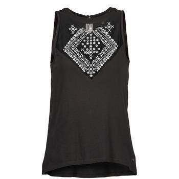 Oblečenie Ženy Tielka a tričká bez rukávov Element ROSANA čierna