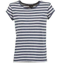 Oblečenie Ženy Tričká s krátkym rukávom Tommy Jeans AMELIE Námornícka modrá / Biela