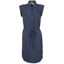 Oblečenie Ženy Krátke šaty Tommy Jeans BASIC SHIRT DRESS Námornícka modrá