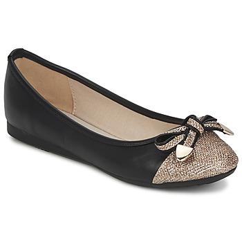 Topánky Ženy Balerínky a babies Moony Mood DAK Čierna