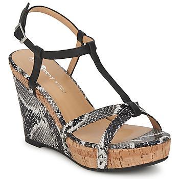 Topánky Ženy Sandále Moony Mood NILO čierna