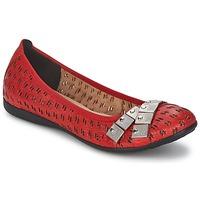 Topánky Ženy Balerínky a babies Un Matin d'Ete DISTRICTY červená