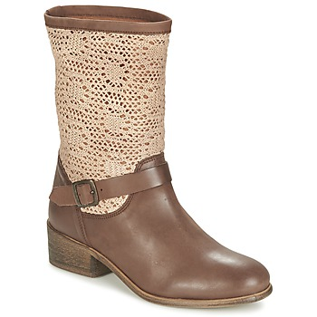 Topánky Ženy Polokozačky Betty London CASTAGNO Hnedá