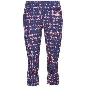 Oblečenie Ženy Legíny The North Face PULSE CAPRI TIGHT Námornícka modrá / Ružová
