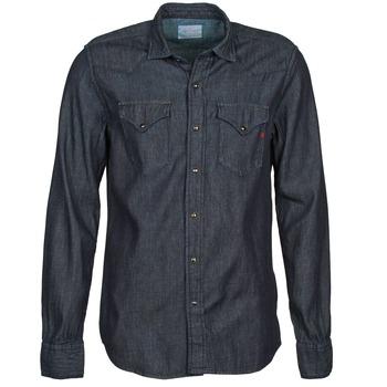 Oblečenie Muži Košele s dlhým rukávom Replay M4860N šedá