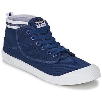 Topánky Muži Členkové tenisky Volley HIGH LEAP Námornícka modrá / Biela