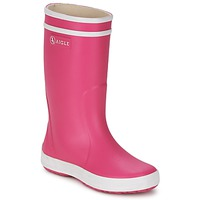 Topánky Dievčatá Čižmy do dažďa Aigle LOLLY-POP Ružová / Biela