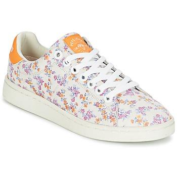 Topánky Ženy Nízke tenisky Pepe jeans CLUB FLOWERS Biela