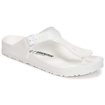 Topánky Ženy Žabky Birkenstock GIZEH EVA Biela