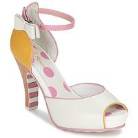 Topánky Ženy Sandále Lola Ramona ANGIE Ružová / Biela