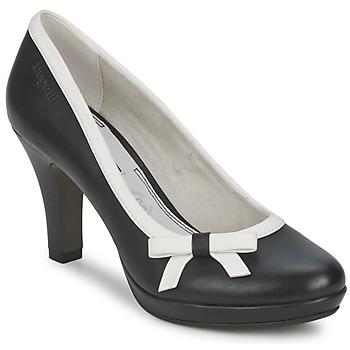 Topánky Ženy Lodičky Bugatti AZELINIA čierna / Biela
