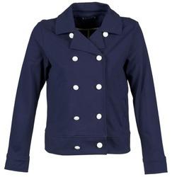Oblečenie Ženy Saká a blejzre Petit Bateau FLORINE Námornícka modrá