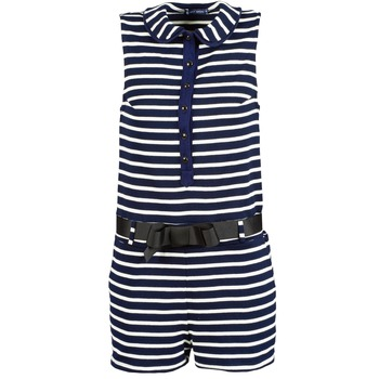 Oblečenie Ženy Módne overaly Petit Bateau FAITOUT Námornícka modrá / Biela