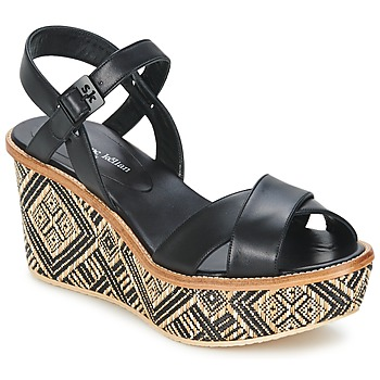 Topánky Ženy Sandále Stéphane Kelian BELLA 7 Čierna