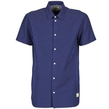Oblečenie Muži Košele s krátkym rukávom Suit DAN S Modrá