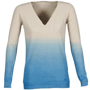 Oblečenie Ženy Svetre Gas DESHI Béžová / Modrá