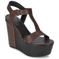 Topánky Ženy Sandále Vic GIBSON Hnedá
