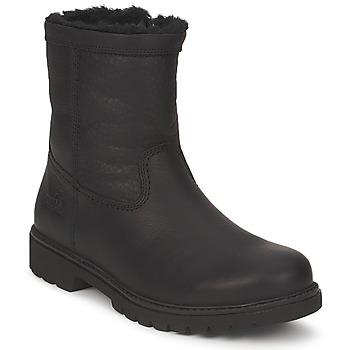 Topánky Muži Polokozačky Panama Jack FORRO PELO Čierna