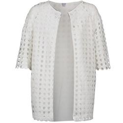 Oblečenie Ženy Kabáty Brigitte Bardot BB44197 Biela