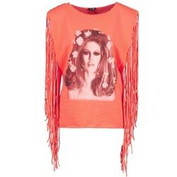 Oblečenie Ženy Tielka a tričká bez rukávov Brigitte Bardot BB44075 Koralová