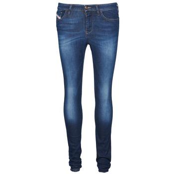 Oblečenie Ženy Džínsy Slim Diesel SKINZEE Modrá