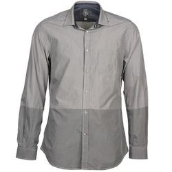 Oblečenie Muži Košele s dlhým rukávom Diesel SAUSAN šedá