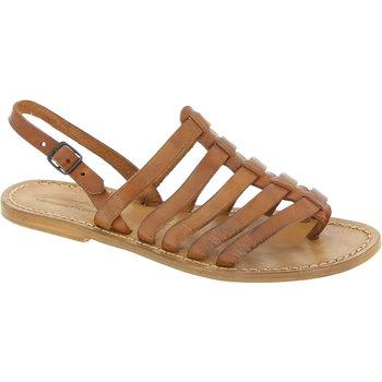Topánky Ženy Sandále Gianluca - L'artigiano Del Cuoio 576 D CUOIO CUOIO Cuoio