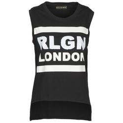 Oblečenie Ženy Tielka a tričká bez rukávov Religion B123RGT41 Čierna