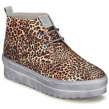 Topánky Ženy Členkové tenisky Ylati BAIA F Leopard