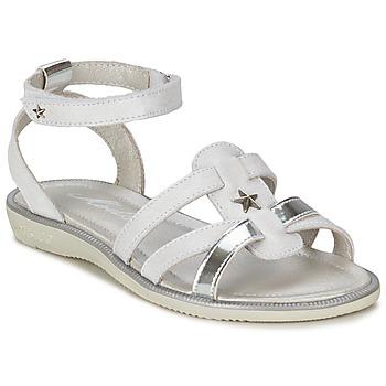 Topánky Dievčatá Sandále Mod'8 HOPAL Biela