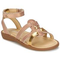 Topánky Dievčatá Sandále Mod'8 HOPAL Ružová