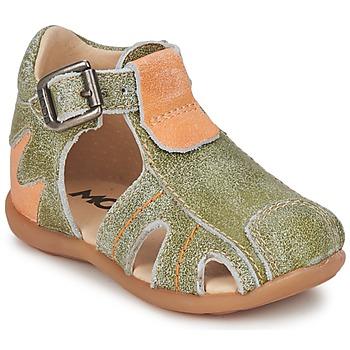 Topánky Chlapci Sandále Mod'8 ALUCINE Zelená / Oranžová