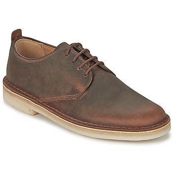 Topánky Muži Derbie Clarks DESERT LONDON Hnedá