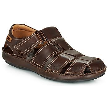 Topánky Muži Sandále Pikolinos TARIFA 06J Hnedá